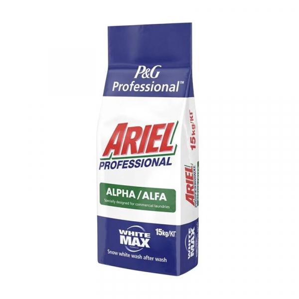 Detergent automat Ariel Professional White Max Alfa, 150 spalari, 15Kg [0]