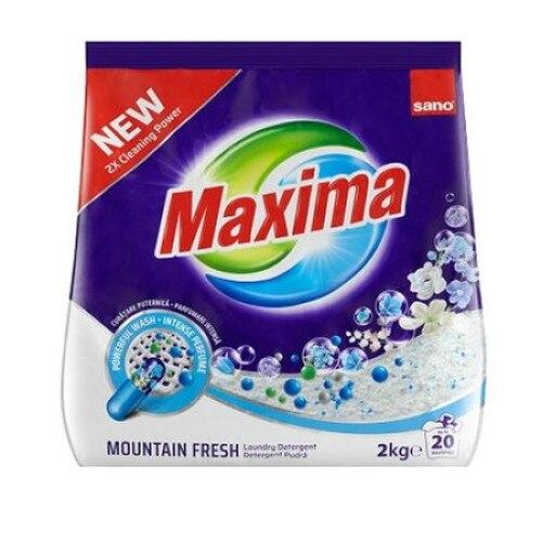 Detergent rufe Sano Maxima Mountain Fresh, 20 spalari, 2Kg [0]