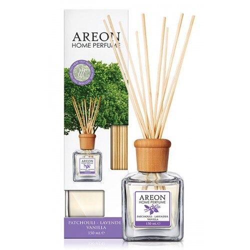 Odorizant cu betisoare Areon Home Perfume Patchouli Lavender Vanilla, 150ml [0]