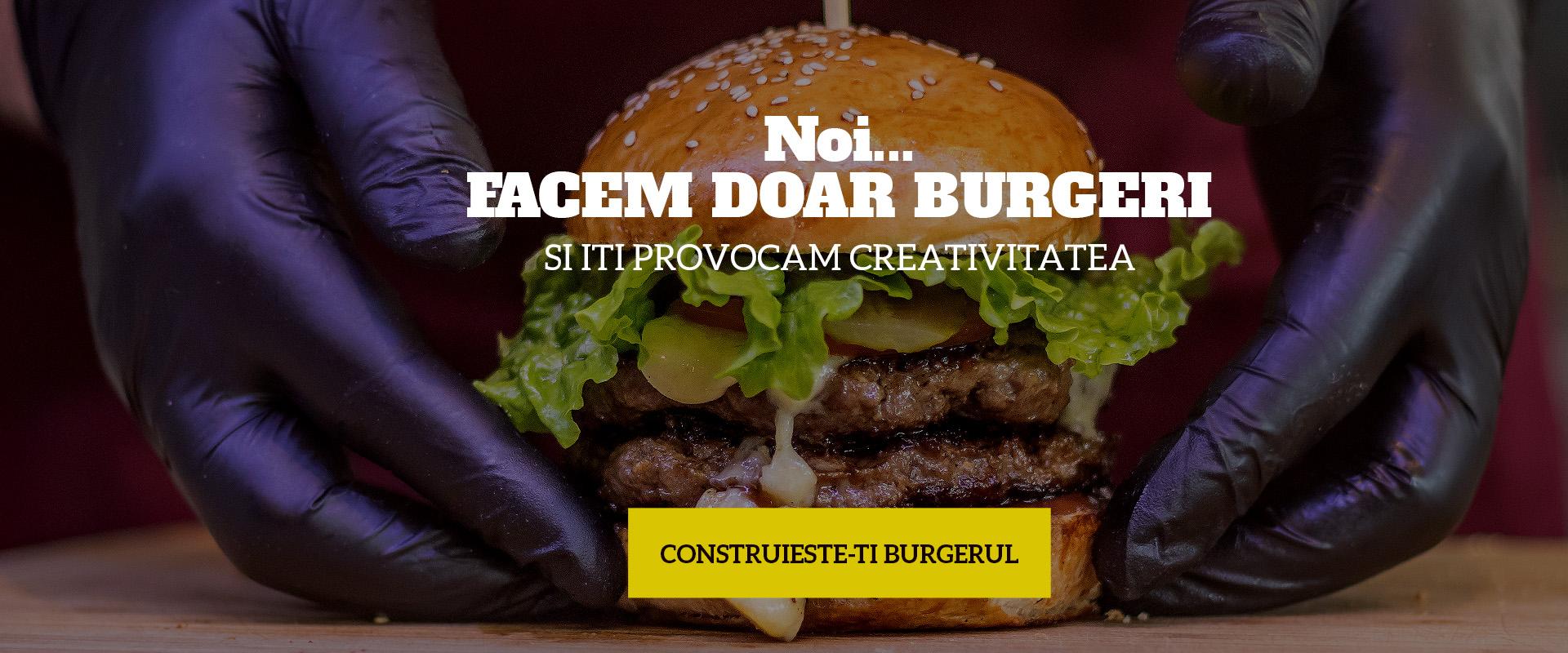 Grillburger dublu cu cheddar