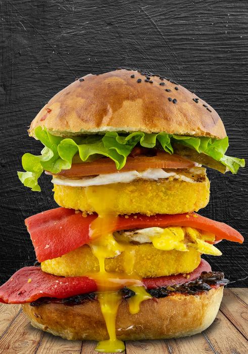 No Meat Burger Meniu 1
