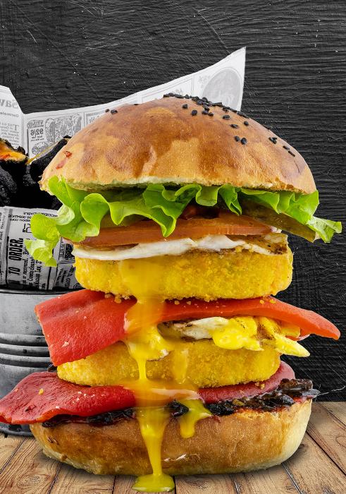 No Meat Burger Meniu 0