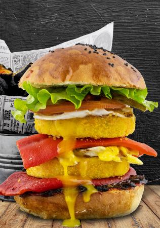 No Meat Burger Meniu0
