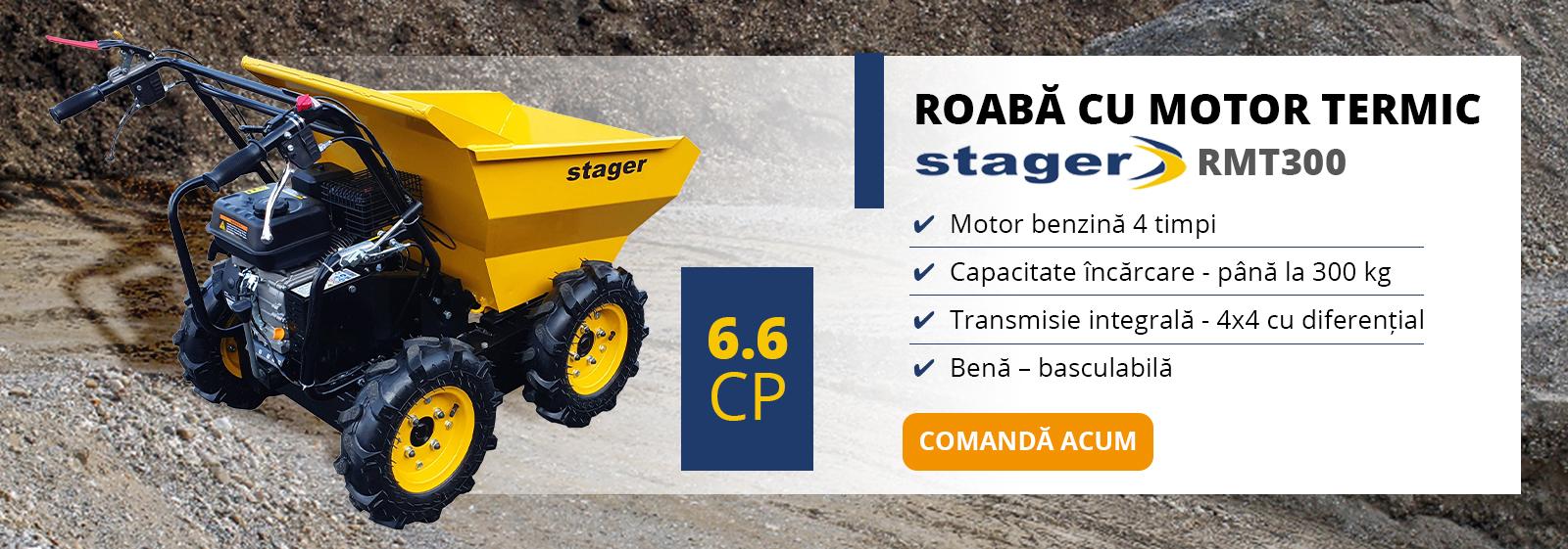 Promotie roaba Stager RMT300