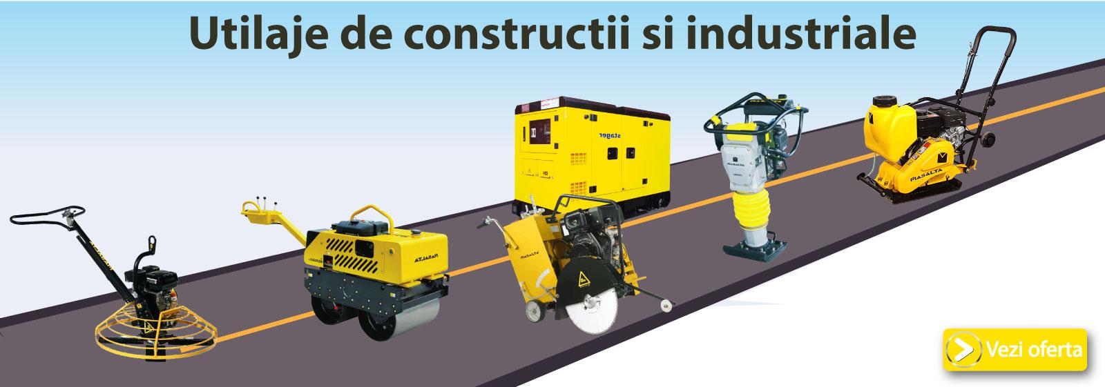 Promotii utilaje de constructii