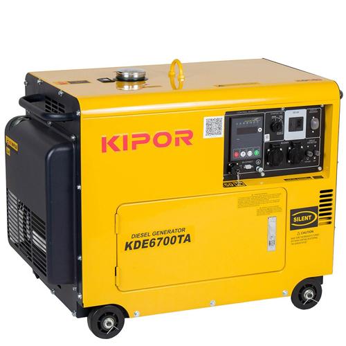 Generator insonorizat Kipor KDE 6700 TA 0
