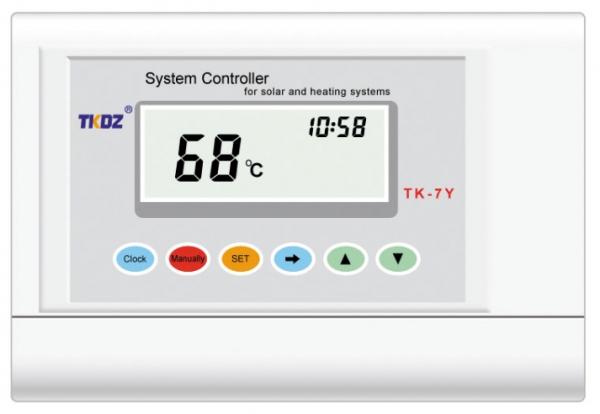 TK-7Y - regulator pentru sisteme solare presurizate SONTEC 0