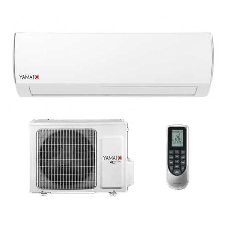 Aparat aer conditionat inverter Yamato YW12IG3 12000 BTU, Wi-Fi, Timmer, autorestart, Kit instalare inclus, Freon R32 0