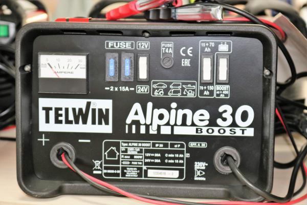Alpine 30 Boost - Redresor auto Telwin [1]
