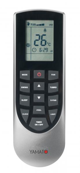 Aparat aer conditionat inverter Yamato YW12IG4 12000 BTU, Wi-Fi, Timmer, autorestart, Freon R32 2
