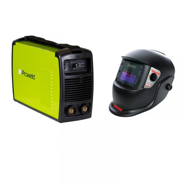 Aparat de sudare Proweld MMA-160PI cu masca de sudura cu reglaj automat Almaz BY350E-ROSE 0