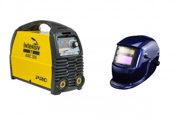 ARC 200 VRD - Aparat de sudura tip invertor + Masca cristale BLUE 0