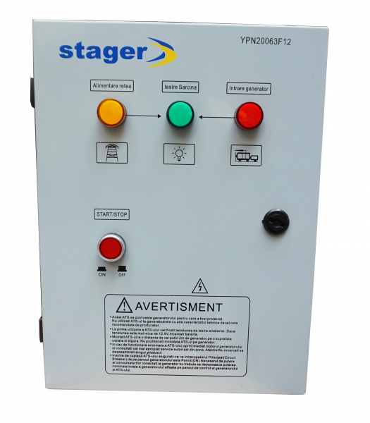Automatizare monofazata Stager YPN20063F12S 0