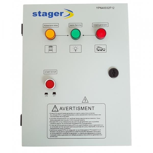 Automatizare trifazata Stager YPN40032F12 1
