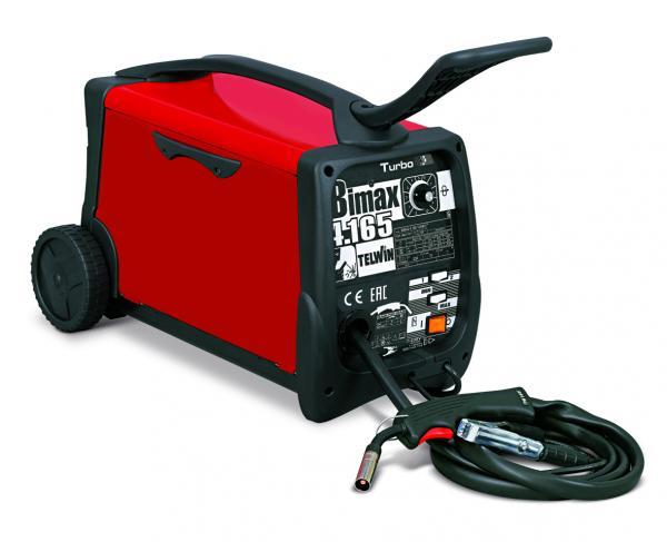 BIMAX 4.165 Turbo - Aparat pentru sudura MIG-MAG 145A TELWIN 0