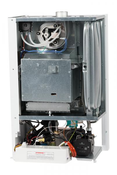 Centrala termica conventionala Motan Kplus 24 24 kw, functionare pe GPL, kit evacuare inclus, hidrobloc din bronz 3