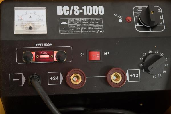 CD 1000 - Robot si redresor auto trifazat GIANT (BCS 1000) [2]