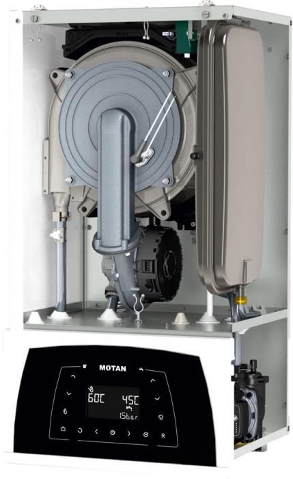 Centrala termica in condensare Motan Condens 100 - 25 kw C38GC25V1, kit evacuare  inclus, model 2021 [2]