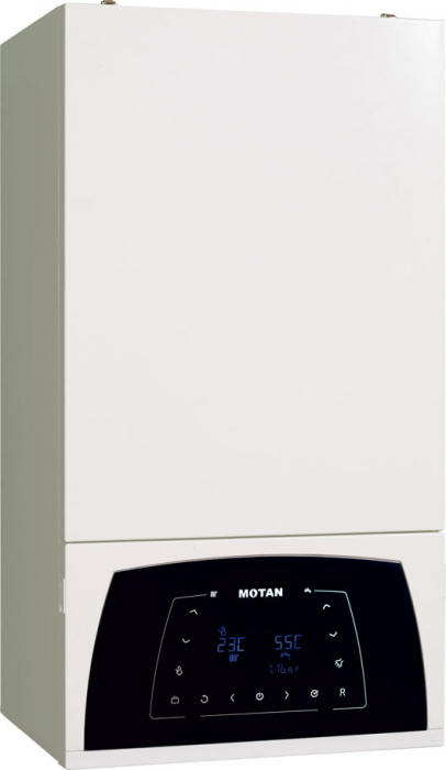 Centrala termica in condensare Motan Condens 100 - 25 kw C38GC35V1, kit evacuare  inclus, model 2021 [3]