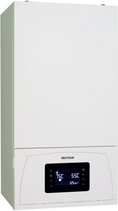 Centrala termica in condensare Motan Condens 100 25 - 25 kw C38GC25-PV1, kit evacuare inclus si kit instalare [1]