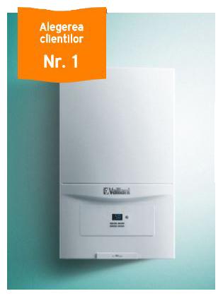 Centrala termica in condensare Vaillant Ecotec Pure VUW VUW 286/7-2 28 kW cu termostat cu control prin internet Salus iT500 [0]
