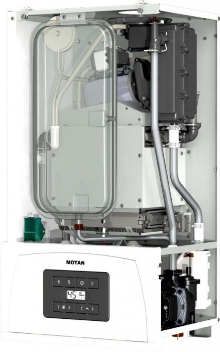 Centrala termica Motan Condens 050 24 kW, C34GV24-PV2, kit evacuare inclus, model 2021 [1]