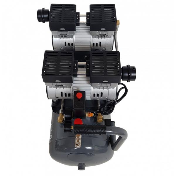 Compresor silentios Stager HM50JW-0.75x2 50L 330L/min 2