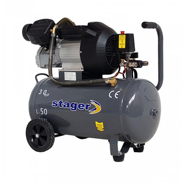 Compresor Stager HM3050V, 50L, 356l/min 0