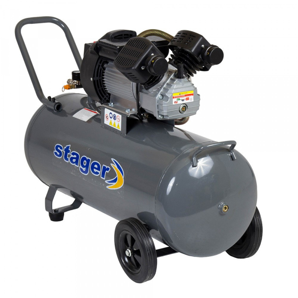 Compresor Stager HM3100V 3CP, 100L, 8bar 2