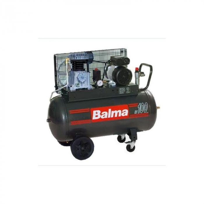 Compresor cu piston Balma NS12S-100-CM3 [0]