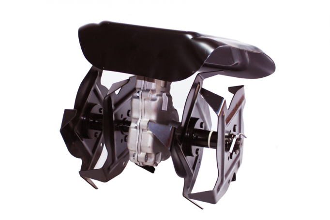 Pachet motocoasa  pe benzina Micul Fermier 712 cu 8 accesorii,4.76CP cu accesoriu pentru taiat crengi si cultivator 28mm [2]