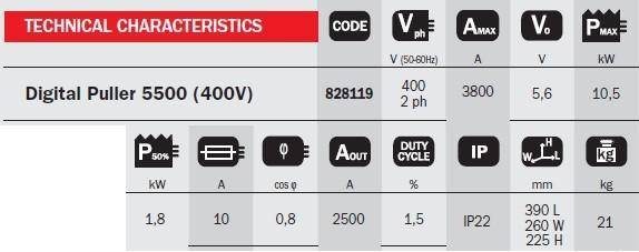 Digital  Puller 5500 400V - Aparat de sudura in puncte TELWIN 2
