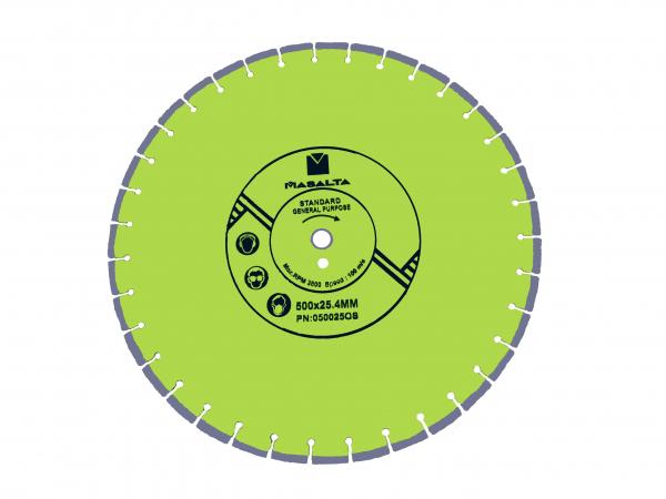 Disc diamantat Masalta uz general 500mm PRO 0