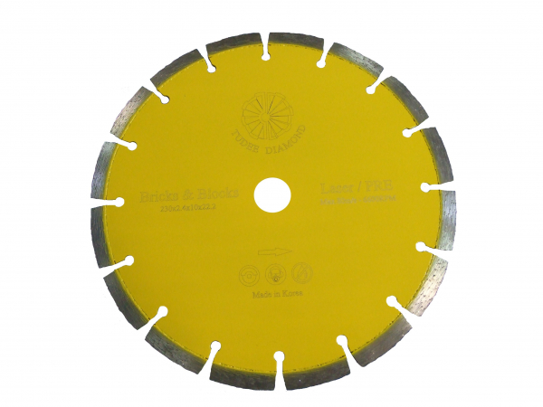 Disc diamantat Tudee 115X22.23mm debitare materiale de constructii 0