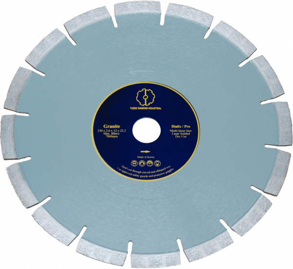 Disc diamantat Tudee 115X22.2mm debitare granit 0