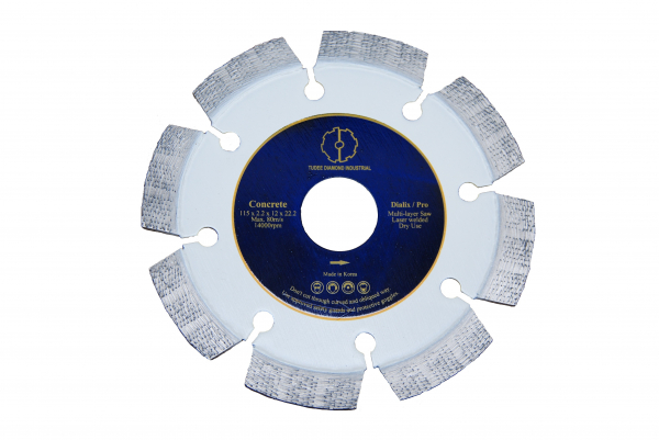Disc diamantat Tudee 125X22.2mm debitare beton dur 0