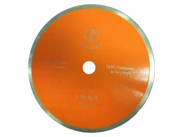 Disc diamantat Tudee 230X22.2mm debitare portelan 0