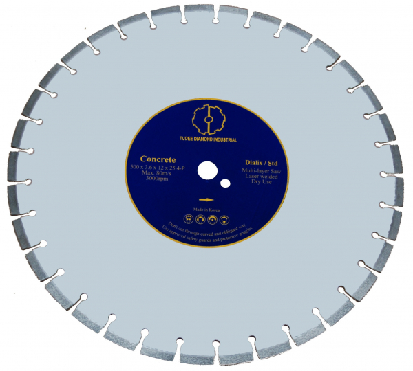 Disc diamantat Tudee 300X25.4mm debitare beton dur [0]