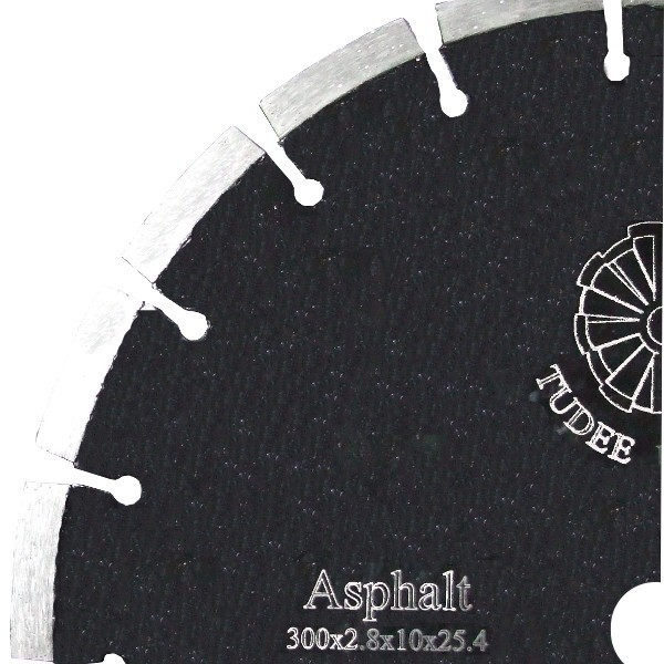 Disc diamantat Tudee 350X25.4mm debitare asfalt [0]