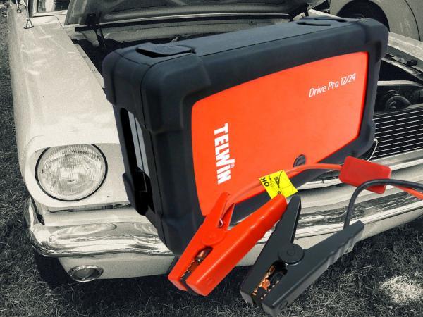 Dispozitiv pornire DRIVE PRO 12/24 Telwin 5