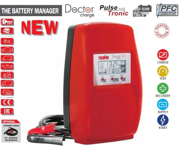 DOCTOR CHARGE 130 - Redresor auto TELWIN (cod nou: 807599) 1