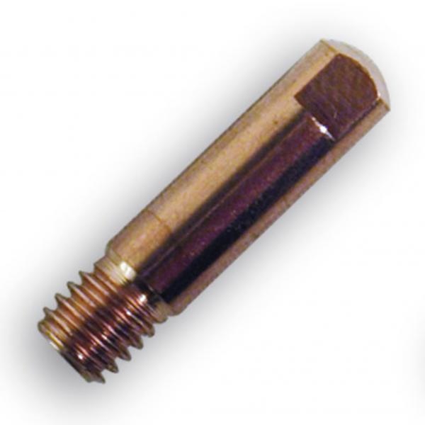 Duza de contact sarma de otel 0.8 mm , M6 x 25 mm 0