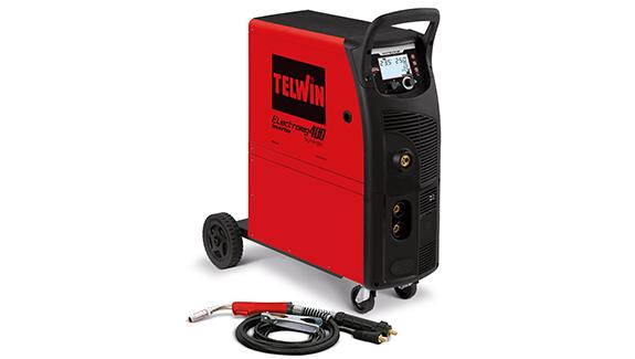 ELECTROMIG 400 SYNERGIC - APARAT DE SUDURA TELWIN tip MIG-MAG/TIG/MMA 0
