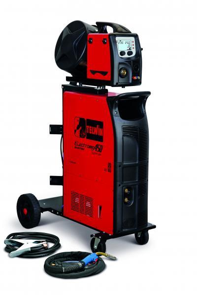 ELECTROMIG 450 SYNERGIC AQUA - APARAT DE SUDURA TELWIN tip MIG-MAG/TIG/MMA 0