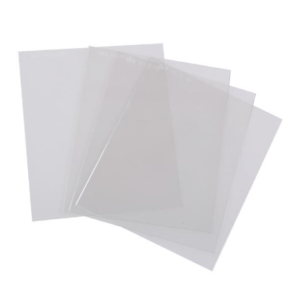 Geam plastic protectie exterioara 115x94mm [0]