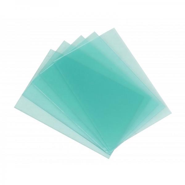 Geam plastic protectie masca sudura 116x89mm [0]