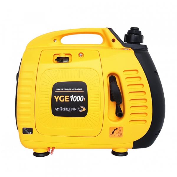Stager YGE1000i Generator digital invertor monofazat, 1 kW, benzina, pornire la sfoara [0]