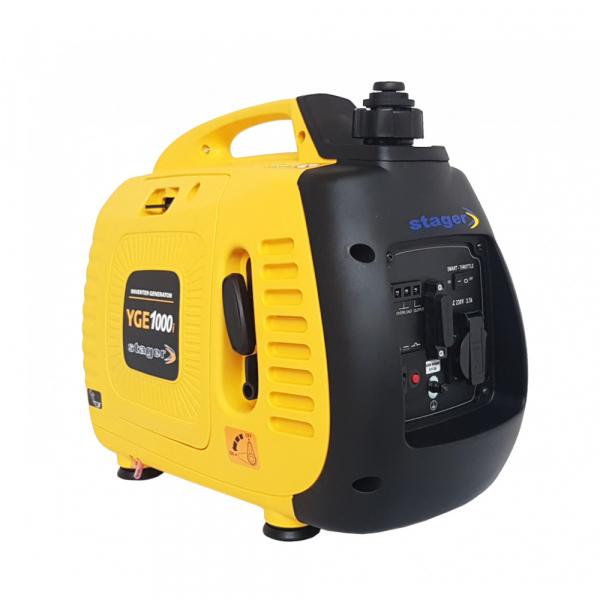 Stager YGE1000i Generator digital invertor monofazat, 1 kW, benzina, pornire la sfoara [2]