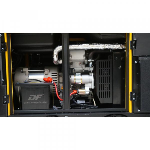 Generator insonorizat Stager YDE12TD3, 3000rpm, diesel, trifazat 1