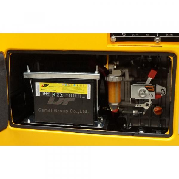 Generator insonorizat Stager YDE7500TD, diesel, monofazat 2